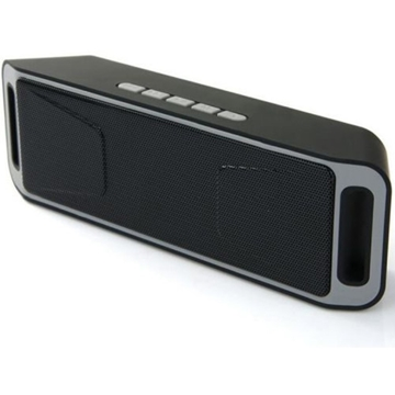 Слика на BLUETOOTH SPEAKER SC208 MEGA BASS A2DP PORTABLE FULL STEREO MUSIC PLAYER SUPPORT MICROSD CARD USB