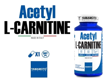 Слика на ACETYL L-CARNITINE 1000MG 60 TABLETS