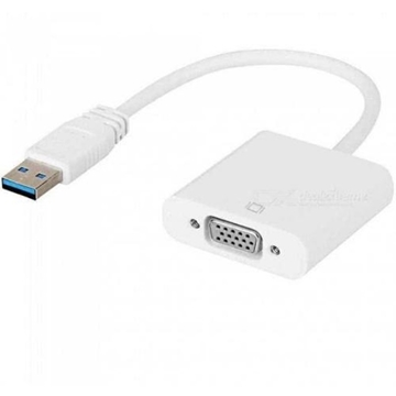 Слика на USB 3.0 TO VGA ADAPTER USB TO VGA DISPLAY EXTERNAL GRAPHIC CARD ACTIVE ADAPTER FOR PC LAPTOP